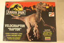 "Jurassic Park, Velociraptor (Raptor) 6"" high, Lindberg kit 70272, Dinosaur Model"