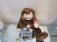 FOLKMANIS MONKEY PUPPET PLUSH NEW! ALL TAGS! + FREE CANADA GIFT! AWESOME!