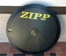 ZIPP 950 ROAD PISTA BIKE CARBON FIBER DISC REAR WHEEL 700c TUBULAR MAVIC