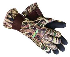 New Flambeau Wrist Neoprene Gauntlet Hunting Gloves Fleece Lined