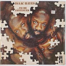 ISAAC HAYES: To Be Continued Rare STAX Germany Funk Soul VINYL LP Rare USA VG+