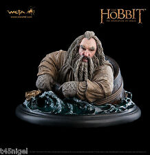 Weta ~ The Hobbit: The Desolation of Smaug – Oin the Dwarf Barrel Rider