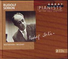 Rudolf serkin: Great pianists of the 20th Century 2cd Beethoven Mozart concerto
