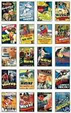 John Wayne Film Poster NEW Trading Card Set Vol1 !!!!!!