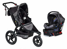 BOB 2016 Revolution Flex Stroller Travel System Black + B-Safe 35 Car Seat