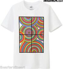 SOL LEWITT x UNIQLO 'Circles' SPRZ NY MoMA Art T-Shirt Colorful Geometric M NWT!