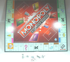 Monopoly Electronic banking Game Board/Movers/Dice Instruction booklet