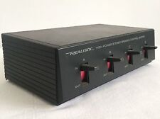 Realistic-POWER Stereo High Altoparlante Control Center CAT. #: articolo 40-136 m215