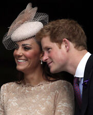 Catherine, Duchess of Cambridge & Prince Harry UNSIGNED photo - H5817