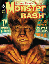 MONSTER BASH #27 WOLF MAN The Blob MOLE PEOPLE Creature Features HORROR MAGAZINE