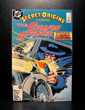 COMICS: DC: Secret Origins #5 (1980s), Crimson Avenger  - RARE (figure/batman)