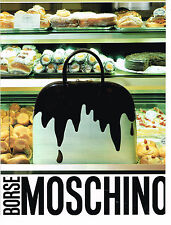PUBLICITE ADVERTISING 084  1996  MOSCHINO   borse  collection sacs        060814
