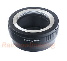 Adjustable M42 42mm Screw Mount Lens to Fujifilm X-E2 X-T10 X-T1 X-T2 Adapter