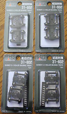 LOT of 4 - HO Scale - KATO 31-602 BARBER S-2 ROLLER BEARING 70-Ton Trucks