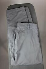 Adidas ClimaLite Golf Pants Gray Mens Size 32x32 Flat Front