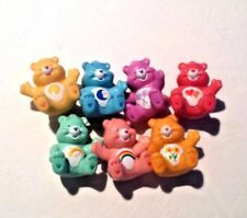 SET OF 7 CARE BEARS CAKE TOPPERS NEW