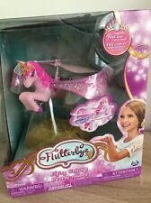 Flutterbye Fata che vola Ragazze Unicorno magico NUOVO con scatola regalo rosa