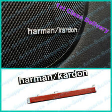 2 x ALUMINIUM Harman Kardon Badge Emblem sticker for Car Audio BMW VW Benz Mini