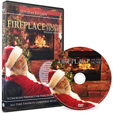 Fireplace DVD: Holiday Yule Log Edition - with Christmas music!