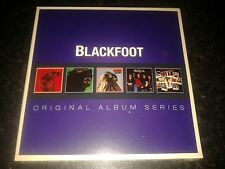 BLACKFOOT - ORIGINAL ALBUM SERIES 5 CD SET NEW SEALED 2013 WARNER