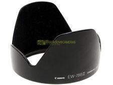 Canon EW-78B II paraluce originale per 28/135mm. f3,5-5,6. EW78b II.