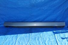 2002 BMW 745i E65 #15 RIGHT PASSENGER SIDE SKIRT ROCKER PANEL COVER MOLDING GRAY