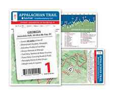 Appalachian Trail Map AT-1 Georgia AT Pocket Profile