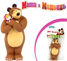 SALE! Rubber Toy ORIGINAL Masha and the Bear 14 cm Маша и медведь from Russia!