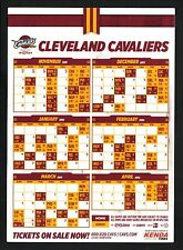 2013-14 Cleveland Cavaliers Magnet Schedule