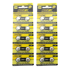 20 pcs AG4 D377 L626 SR66 SR626SW 1.5V Alkaline Button Cell Battery HyperPS