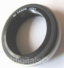 CANON FD T2 MOUNT LENS ADAPTER METAL RING T-MOUNT F-1N A1 T-90 AE-1 P FL Japan