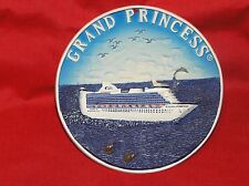 GRAND PRINCESS CRUISE SHIP OCEAN LINER 3D PLAQUE PICTURE PLATE SMITH NOVELTY