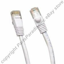 Lot40 10ft RJ45 Cat5e Ethernet Cable/Cord/Wire{WHITE{F