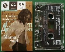 Carleen Anderson Mama Said Cassette Tape Single - TESTED