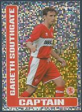 MERLIN F.A. PREMIER LEAGUE 06- #317-MIDDLESBROUGH-GARETH SOUTHGATE-CAPTAIN-FOIL
