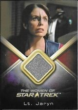 2010 Women Of Star Trek #WCC26 Megan Gallagher as Lt. Jaryn Costume Relic Card