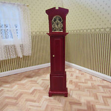 DOLLS HOUSE EMPORIUM NON WORKING GRANDFATHER CLOCK 12TH SCALE NEW