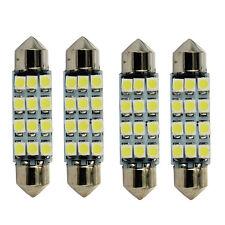 4Pc 12 SMD Kuppel-Karte Innen-LED-helle Lampen-Birnen für Auto & LKW-Teil Neuer
