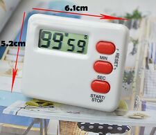 Digital LCD Timer Kitchen Cooking Count-Down Up Sport Study Clock