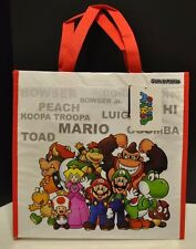Nintendo Super Mario Bros & Friends Peach Toad Yoshi Reusable Tote Bag NEW
