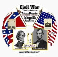 Confederate Veteran Magazine 372+Civil War Soldiers History DVD 33 vol+BONUS DVD