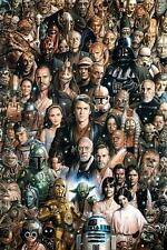 Star Wars : Characters - Maxi Poster 61cm x 91.5cm (new & sealed)
