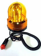 Universal 12 volt Magnetic Flashing Rotating Beacon Car Van Recovery Truck 12v