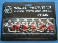 STIGA CAROLINA HURRICANES NHL STIGA TABLE HOCKEY GAME PLAYERS PACK NEW!