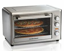 Hamilton Beach 31103A Countertop Oven with Convection and Rotisserie, Silver!