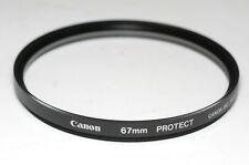 Canon regular protección filtros protect 67mm (nuevo/en el embalaje original)