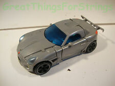 Transformers Transforming Takara Sports Car Racing Hasbro 2006 Gray Toy Kids