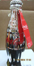 Coca-Cola Silver Commemorative Bottle - BRAND NEW