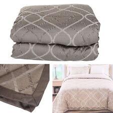 Luxury Winter Soft 4 Piece Quilt Comforter Queen Pillow Sham Bedskirt Bed Set BP