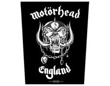 OFFICIAL LICENSED - MOTORHEAD - ENGLAND SEW ON BACK PATCH METAL LEMMY